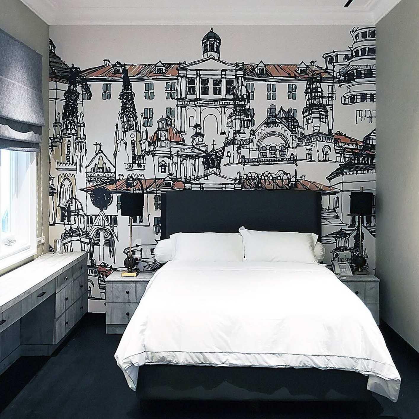 Trend Wallpaper Dinding Kamar 2019
