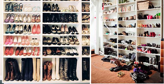 Tips Pengaturan Tempat Koleksi Sepatu