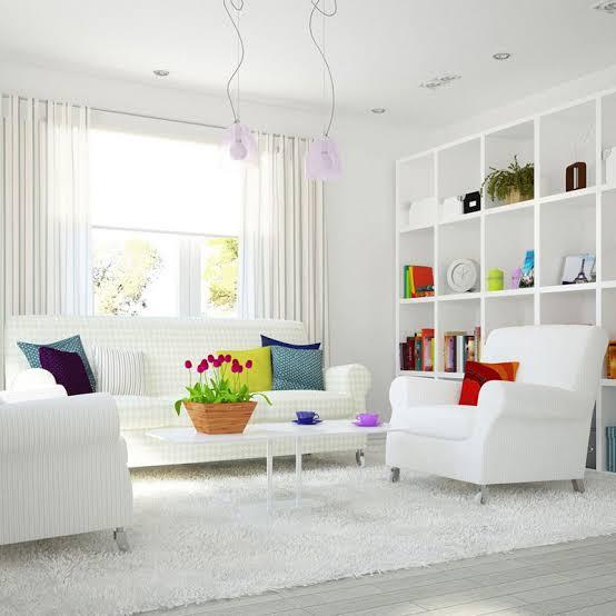 interior warna putih